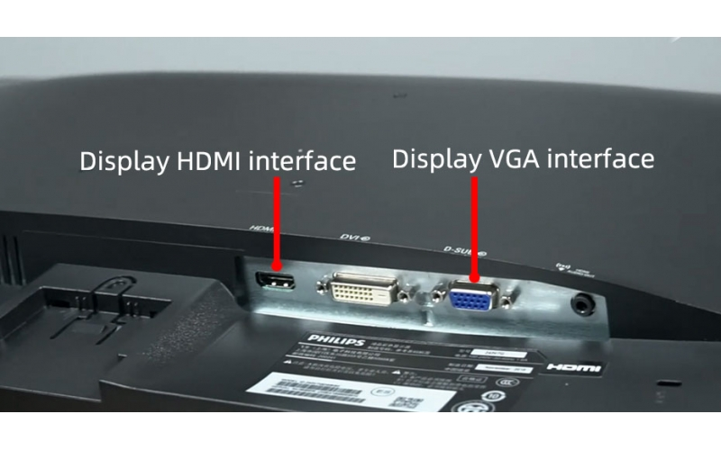 Monitor HDMI or VGA interface which is better? The difference between HDMI and VGA interface
