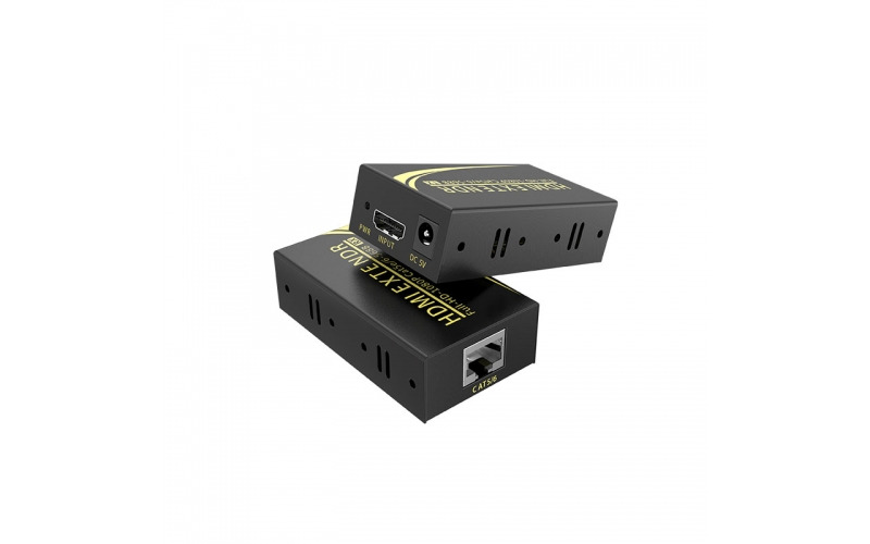 50m HDMI extender HE50 connection method