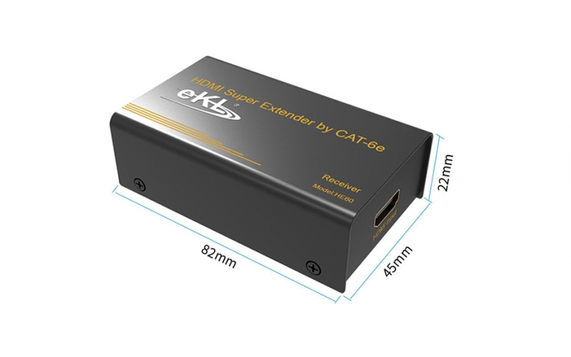60m HDMI single cable extender HE60