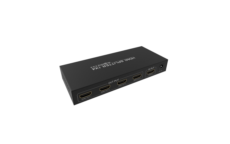 1 in 4 out HDMI splitter UH04