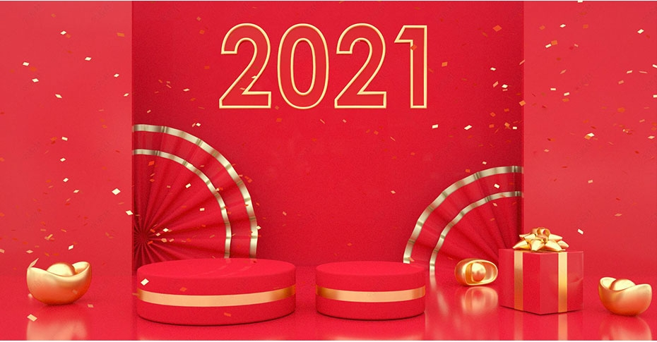 2021 New Year's Day holiday notice