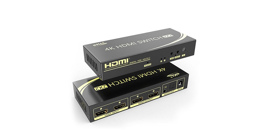 2 port HDMI switcher 212H connection tutorial