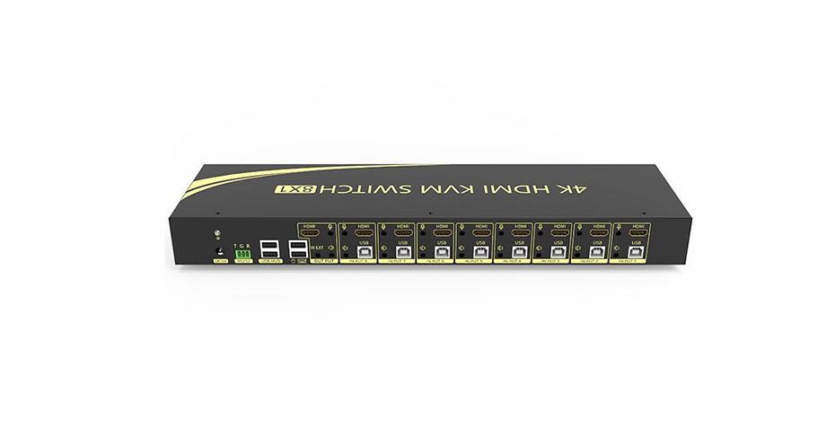 HDMI KVM switch 8-port 81H connection tutorial