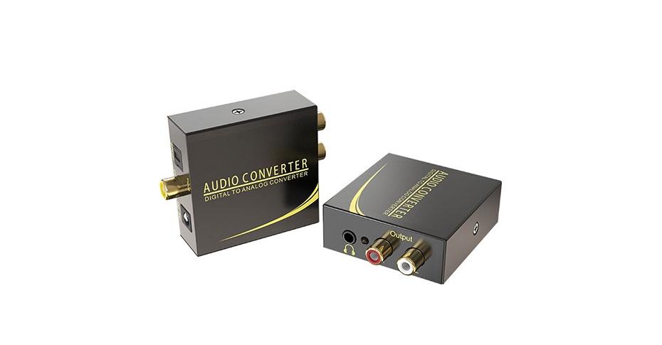 Digital audio to analog audio converter DAN connection tutorial