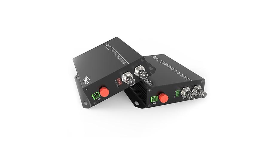 SDI fiber optic extender SDF01 connection tutorial