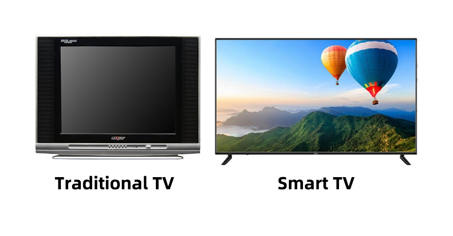 Several ways of digital TV audio output to stereo
