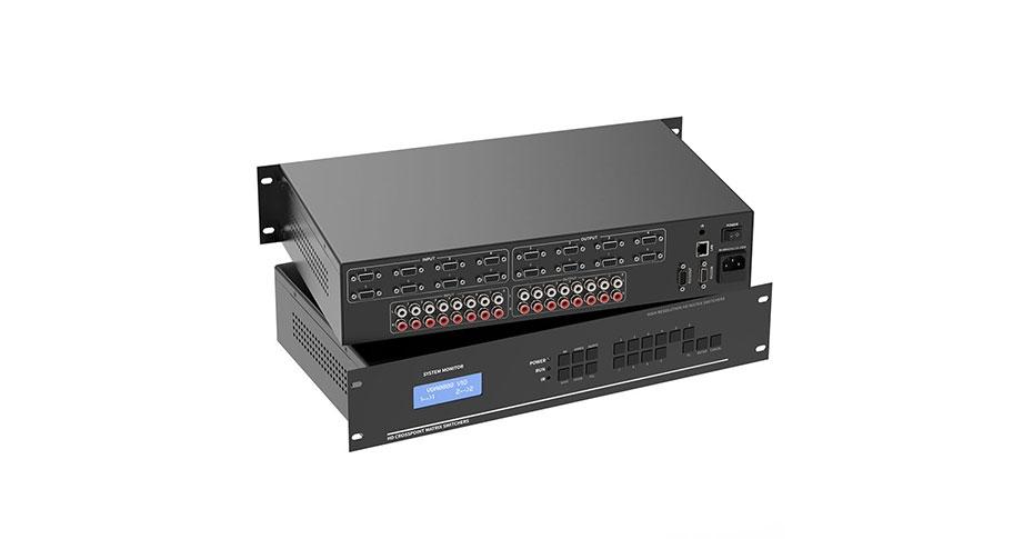 VGA audio matrix 8 in 8 out v818a tutorial