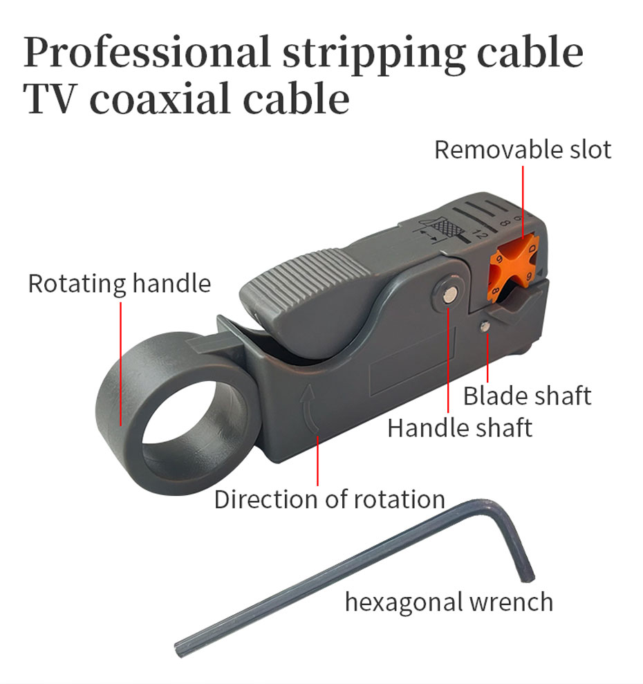 Network cable tool set professional multi-function wire stripper